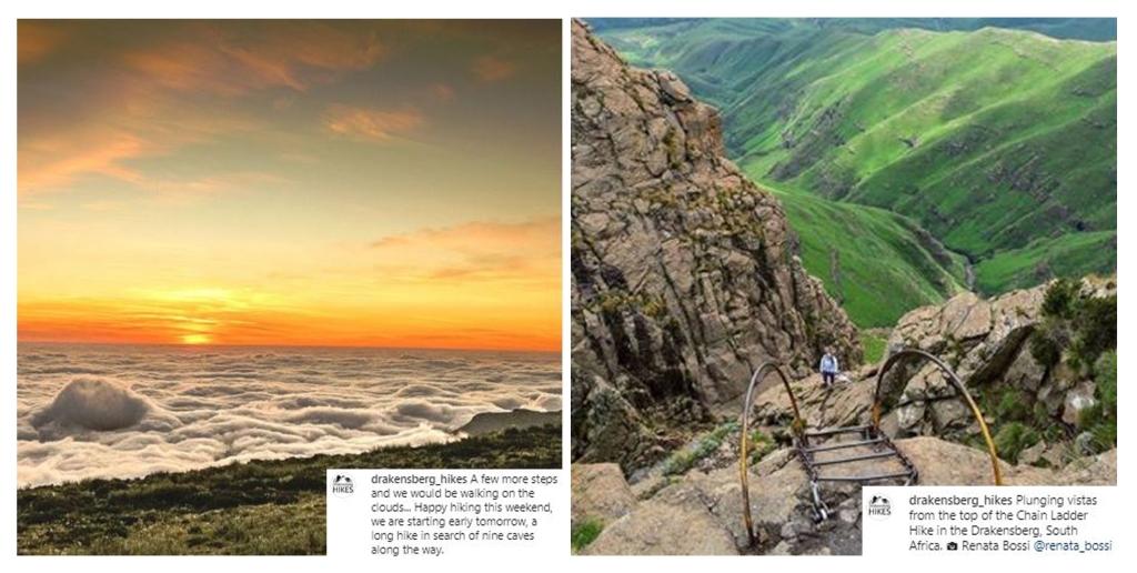 Follow Drakensberg hikes on Instagram