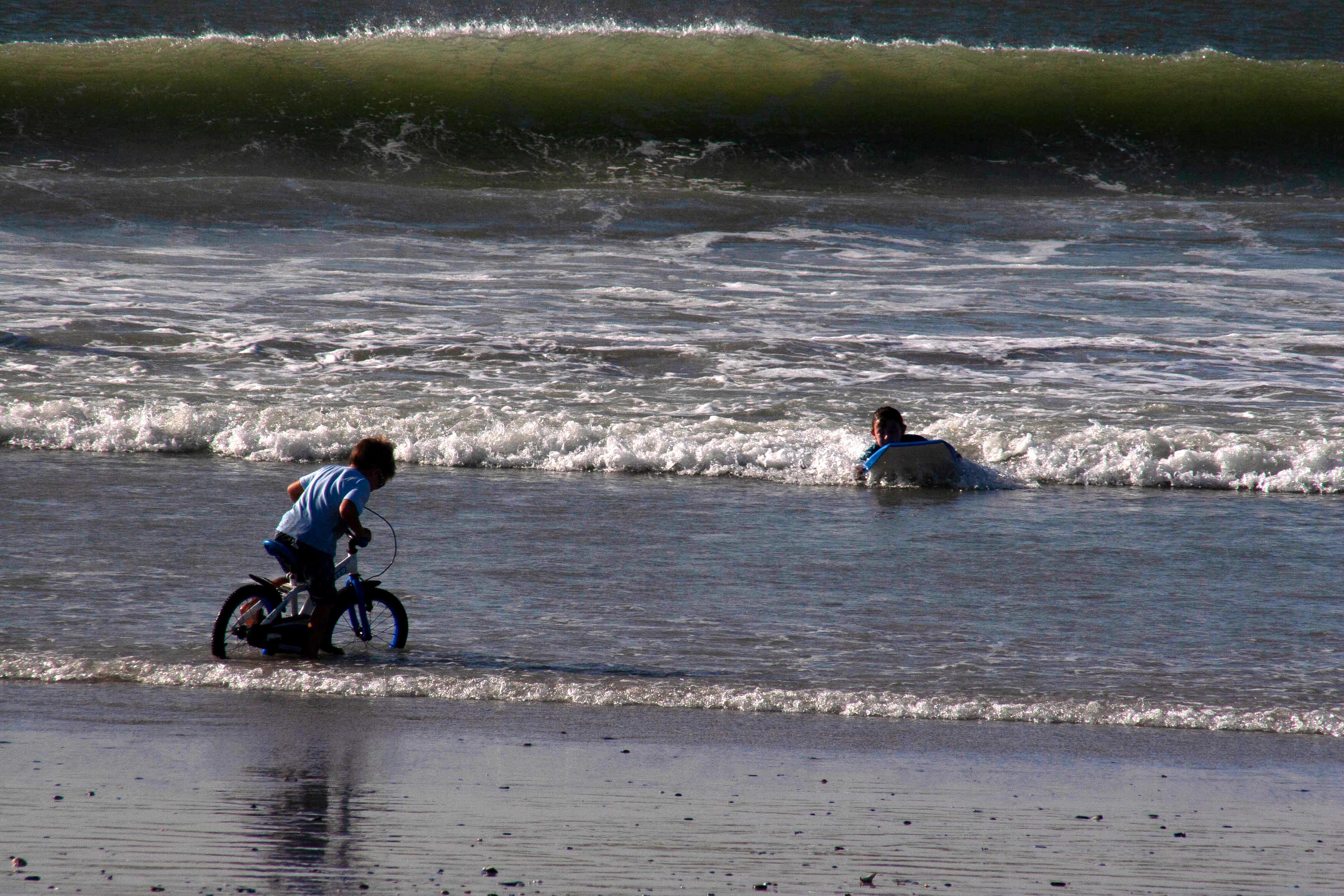child friendly beachfront